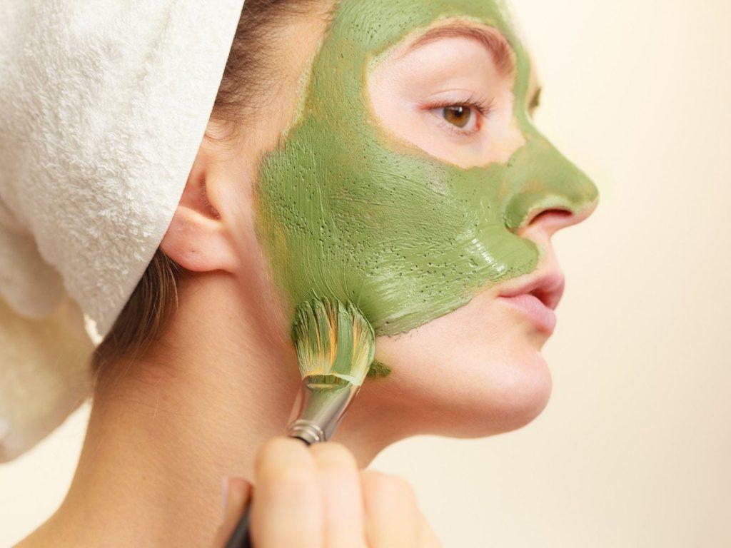argile verte pour prendre soin de la peau